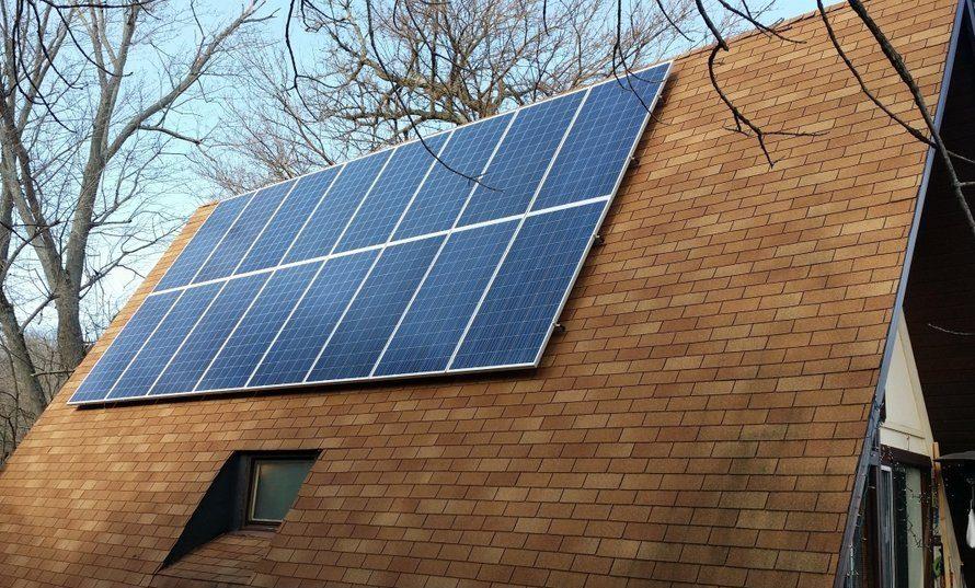 Utica Residential Solar Installation